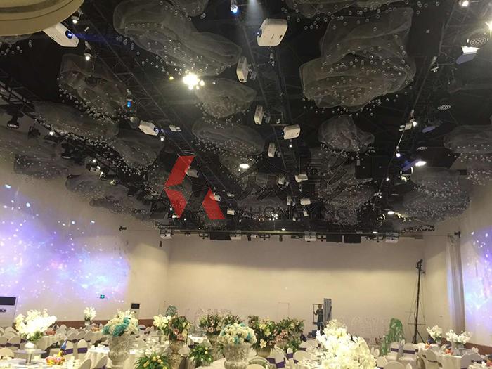 5D全息宴会婚礼精彩图-博视界科技